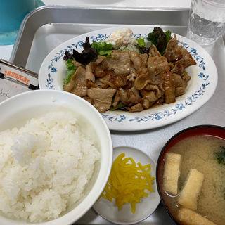 生姜焼き定食(一休食堂 (いっきゅうしょくどう))
