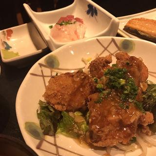ランチ (お刺身&油淋鶏)(魚料理 吉成 )
