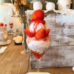 苺かまくらのパルフェ
