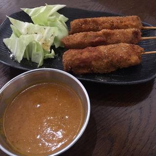 カレー串カツ(ネパーリチュロ)