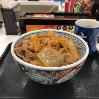 牛丼アタマの大盛り(吉野家 都立大学駅前店 )