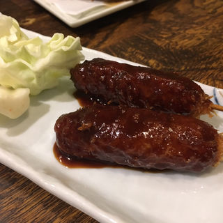 味噌串カツ(伍味酉 錦店 (ごみとり))