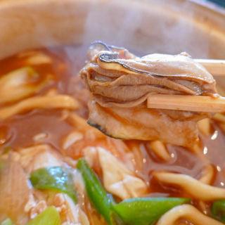 牡蠣入り味噌煮込みうどん(中條屋 )