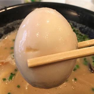 味玉(トッピング)(ざいとん )