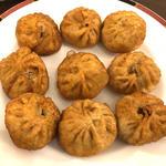 揚げモモ (ネパール風揚げ餃子)