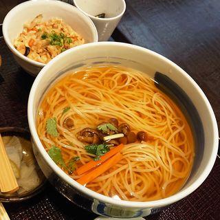 比内地鶏ご飯セット(八代目 佐藤養助)