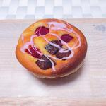 ラズベリーとチャンクチョコレートのマフィン(Patisserie Atelier S)