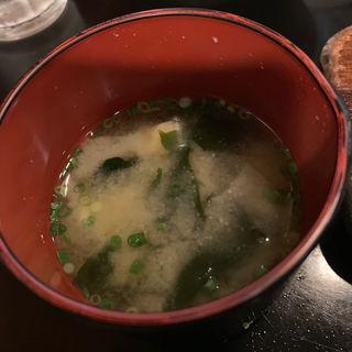 味噌汁(ちんや )