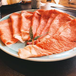 すき焼き定食(昼) 上牛(今半万窯 新宿店 (イマハンバンヨウ))