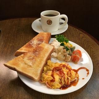 モーニングB(タナカ珈琲 今出川店 (タナカコーヒー))