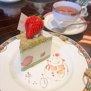 ケーキセット(ザ・ラウンジ ウェスティンホテル東京)