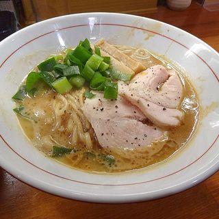 濃厚中華そば(醤油と貝と麺 そして人と夢 )