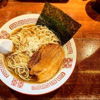 二段仕込みの淡麗中華ソバ(麺や而今 (じこん))