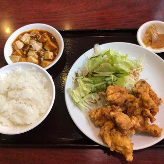 鶏もも肉の唐揚げ定食(順順餃子房 馬喰町店 )