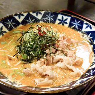 肉坦々蕎麦(辣蕎麦 八丁堀店)