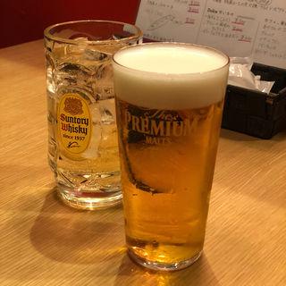 生ビール&ハイボール(aga-ri)