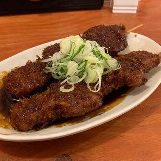 味噌串カツ(大衆酒場 やまと 名駅店)