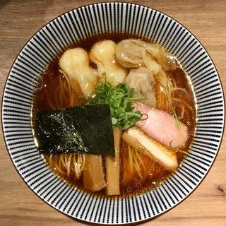 黒旨にこにこワンタン麺(中華soba いそべ (チュウカソバ イソベ))