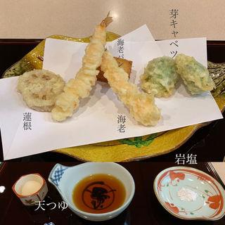 天ぷら盛り合わせ①(与太呂 神戸店 (よたろ))