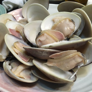 ハマグリ酒蒸し(大衆料理 川治 )