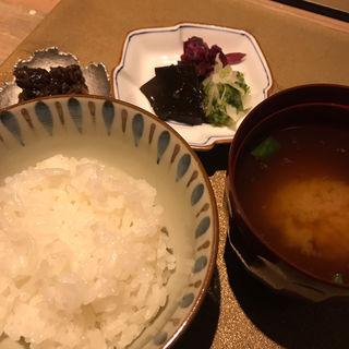 釜炊きご飯(割烹 さいお)