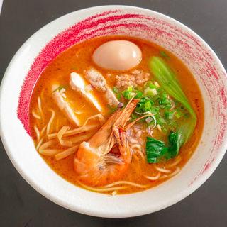 海老鶏白湯ラーメン(Ramen Hamakaze)