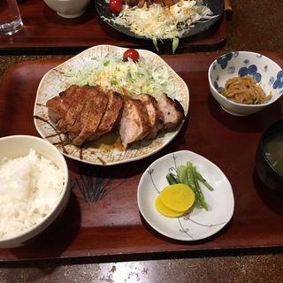 生姜焼き定食(暖)