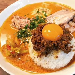 豚積み肉味噌キーマカレー(シシカリ)