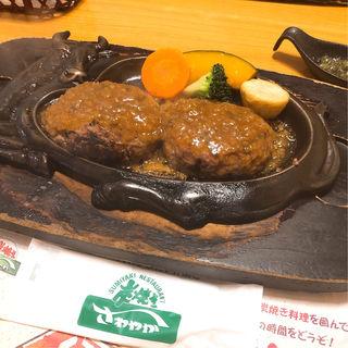 げんこつハンバーグ(炭焼きレストランさわやか 掛川インター店 (スミヤキレストランサワヤカ))