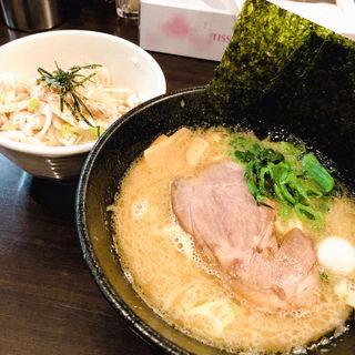 鳥ネギ丼セット(並)(西輝家 )