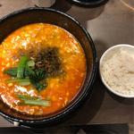 汁有担々麺(辛さ控えめ)