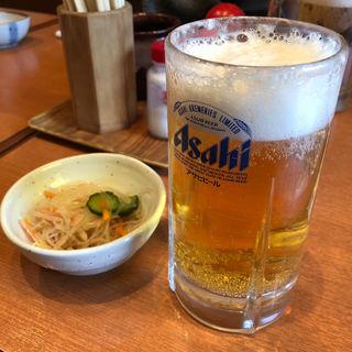 生ビール(居酒屋 のんちゃん 六本松店)