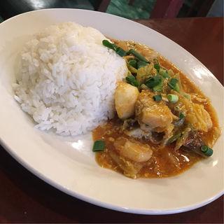 タイ風シーフードカレー(タイレストラン クンメー1 (【旧店名】 パイリン PAILIN))