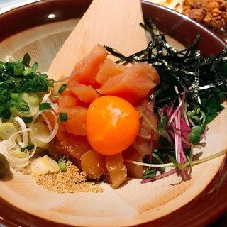 塩ササミユッケ(餃子のロッキー)