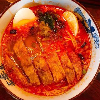 排骨担々麺(黒船亭)