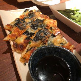 韓国海苔とチーズのちぢみ(韓河 五日市店 (HANA))