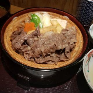 すき焼き御膳 梅(京・茶房 TSURU )