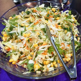 生野菜サラダ(インドレストラン バーワルチー (BAWARCHI))