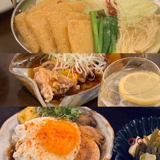 鶏白湯鍋(鶏がメインの大衆酒場 こっから屋)