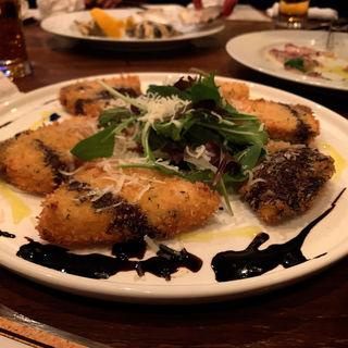 寒ブリのフライ(ristorante match&832)