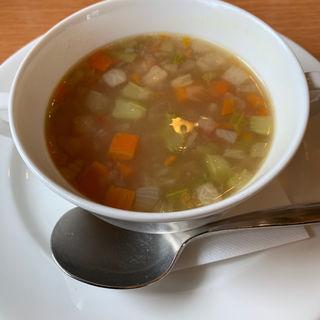 野菜スープ(ロイヤルホスト 平尾店)