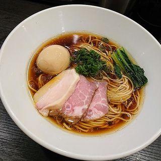 味玉芳醇鶏そば・醤油(麺や福はら)