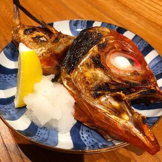 金目鯛の塩焼き(お酒と食事うり)