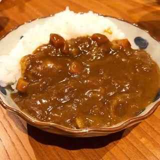 カレー(お酒と食事うり)