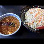 濃厚魚介味噌つけ麺中盛