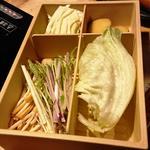 オススメ野菜盛り