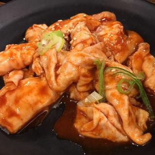 激辛ブタホルモン(七輪焼肉 安安 札幌南3条店)