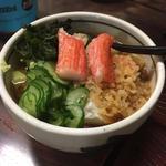 冷やしタヌキ豆腐