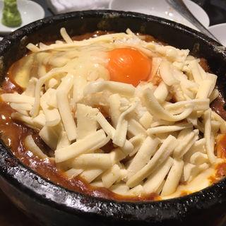 石焼きカレー(チーズ付き)(焼肉処 三幸園 (ヤキニクドコロサンコウエン))