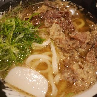 肉なんうどん(手打ちうどん 団平 (だんぺい))